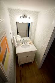 Wallpaper For Bathrooms Ideas by 18 Best Stenciled Bathrooms Images On Pinterest Bathroom Ideas