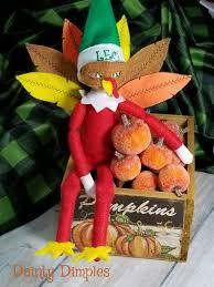 on the shelf ideas thanksgiving returns as a turkey