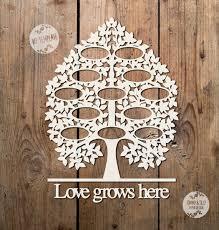 svg pdf 12 name family tree design by tommyandtillydesign