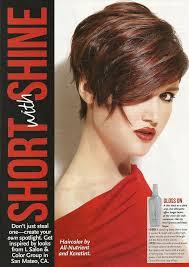 short hair style guide magazine 49 best awesome magazine spreads images on pinterest magazine