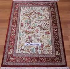 Signed Persian Rugs Pictorial Persian Rugs U0026 Persian Carpets