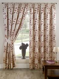 Pencil Pleat Curtain Tape Stylish Pencil Pleat Tape Top Lined Flower Pattern Pair Of