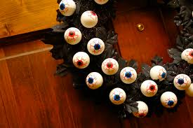 How To Make Halloween Wreaths by Booturtle U0027s Show And Tell Halloween Eyeball Wreath
