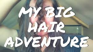 caption for big haircut lita s big haircut adventure back on pointe vlogs youtube