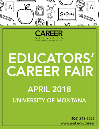 A Map Of Montana by Career Fairs Career Services University Of Montana