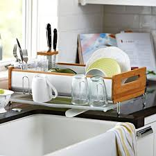 kitchen dish rack ideas best dish drainer countertop bstcountertops