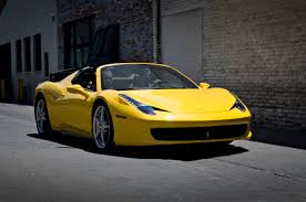 458 spider wiki file yellow 458 italia spider jpg wikimedia commons
