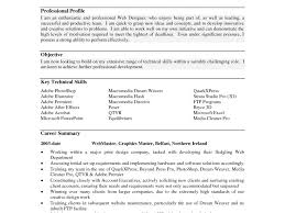 Examples Of Professional Profile On Resume by Resume Profile Examples Resume Cv Cover Letter
