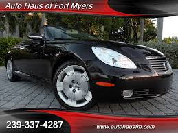 2002 lexus sc 430 convertible ft myers fl for sale in fort myers