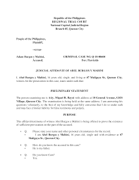 autopsy report sample 170574836 complete judicial affidavit sample documents