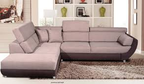 plush sectional sofas artemis fabric sectional sofa w sleeper in sand grey free