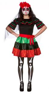 day of the dead costume mexican day of the dead costume