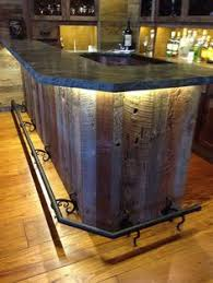 a bar at home perfect for a man cave just needs a pool table off