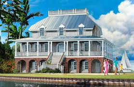 plan 32651wp dramatic low country house plan low country houses