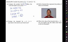 Multiply Polynomials Worksheet Common Core Algebra Ii Unit 1 Lesson 5 Multiplying Polynomials