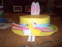 Easy Easter Bonnet Decorations by Please Please Help Me Make An Easter Bonnet U0026 Egg