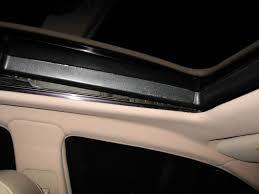 lexus rx300 sun visor repair sunroof shade rattle fix clublexus lexus forum discussion