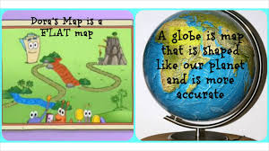 What Is A Map Projection Difference Between Map And Globe Youtube