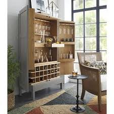 wall unit bar cabinet cameo 2 piece grey glass door wall unit bar cabinets and crates