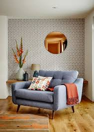 mid century modern living room ideas wallpaper design ideas internetunblock us internetunblock us