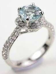 antique aquamarine engagement rings 8 aquamarine engagement rings that give rings a run for