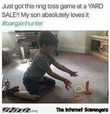 Meme Fail - funny ring toss game fail meme pmslweb