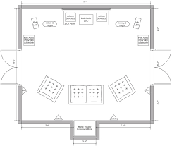 home theater floor plans home theater room floor plans view topic rroobbcc s