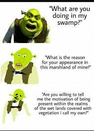 Shrek Memes - shrek memes because reddit funny pinterest shrek memes and