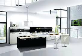 deco cuisine noir et gris cuisine noir et blanc cheap carrelage cuisine noir et blanc coration