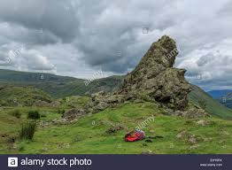view on helm crag also known as the lion u0026 the lamb grasmere