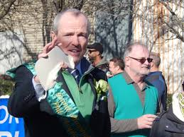 healy embraces murphy in jersey city on st patrick u0027s day u0027the