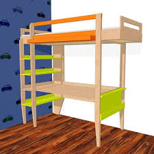 build your own beautiful loft bed or bunk bed single or double