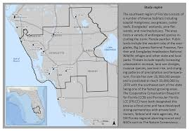 Map Of Southwest Fl Resilient Lands And Waters Initiative November U2013 Geoadaptive Llc