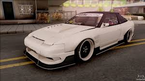 nissan 180sx modified nissan for gta san andreas