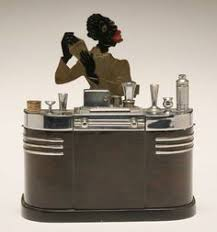 smoker s stand touch tip lighter and cigarette box 1936 ronson