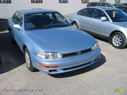 1992 toyota camry le sedan in ice blue pearl 022606 autos of