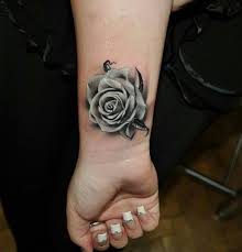 25 trending rose wrist tattoos ideas on pinterest rose tattoo