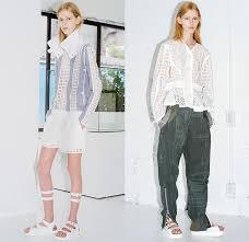 sacai luck sacai luck 2015 resort womens presentation denim fashion