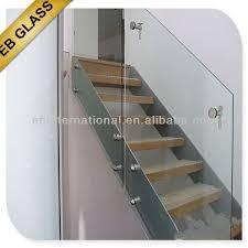 ce as standard frameless tempered glass balcony railing view
