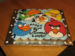 birds pull a part cake