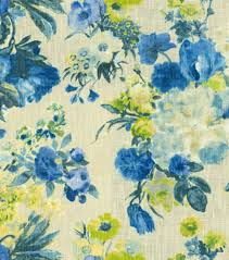 home decor print fabric hgtv home garden odyssey azure joann