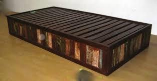 moroccan modular style sofa base in reclaimed wood u2013 tara design