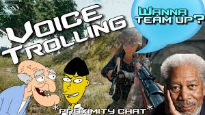 pubg youtube funny pubg proximity chat voice changer funny moments youtube