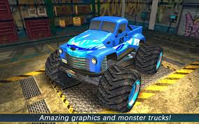 bigfoot monster truck games aen monster truck arena 2017 android apps on google play
