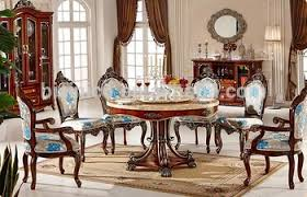 dining room furniture sets european style luxury dining set dining table and chairs royal