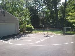 Build A Basketball Court In Backyard Red Brick Home In Provo South Fully Fenced Backyard With Half