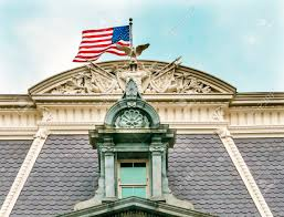 roof decorations roof decorations flag old executive office dwight eisenhower