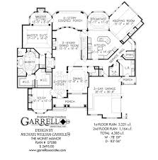 style floor plans monet manor house plan house plans by garrell associates inc