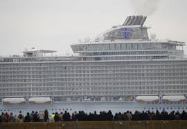 harmony of the seas world u0027s largest cruise ship successfully