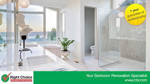 right choice bathroom renovations bathroom renovations u0026 designs